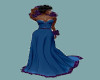 TEF SHIRLEY BLUE GOWN