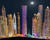 Dubai Background hotel