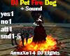 DJ Pet Fire Dog + Sound