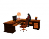 autumn office desk