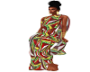 {IND}AfricanSuitRed