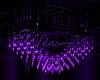 purple crystal chandelir