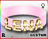 ☢! Lena Collar Gold