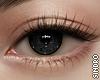 視線. Black.