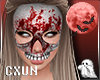 Skull Mask F | Bloody W