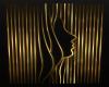 Golden Freya Wall Art