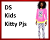 DS Kids Kitty Pjs
