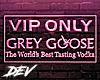 !D Pink Goose Sign