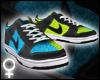 Blue/Green Dunks [F]