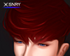 Kiyo hair . burgundy