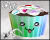 *82 Cupcake Pet - Rainbo