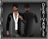 Open Shirt w/Blazer Mesh