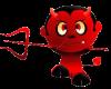 SM Devil Sticker