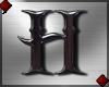 Metal Letter H