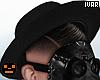 I' Black Plague Hat