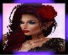 RED ROSE HAIR