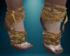 Crusty Mummy Feet