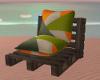 Beach single chair