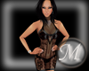 [M] Mar Black Lace Dress