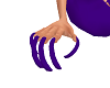 PURPLE CLAWS(nails)