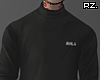 rz. Black Turtleneck