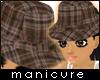 Ladies dress hat COCOA