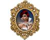 Anita Golden Frame