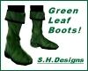 Green Leaf Boots