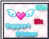 KChi Support Sticker 5k