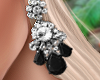 Bali Earrings Black