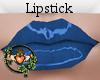 Dark Blue Lipstick