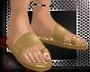 *RH* gold sandals
