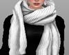 Black Sweater+scarf