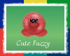 Red Cute Fuzzy
