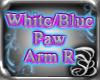 White/Blue arm R