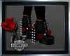 ~Gothic Rose Boots~