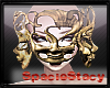 Gold Mantis Mask
