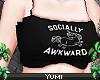 | socially