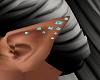 """"""" Teal Elf ears"""
