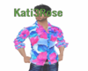 Sassy Blue & Pink Shirt