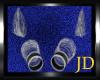 SilverBlack Bracelet Set