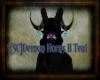 [SC]Deamon Horns II Teal