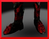 Blk/red boots armor M/F