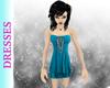 Blue Evance Dress