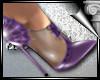 d3✠ Bat Pumps Purple