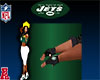 Jets Men Rider Gloves