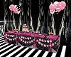Party table POIS black w