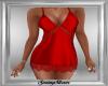 Red Satin Mini Dress