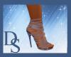 Indigo Strapped Heels