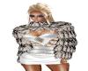 Half Fur WhiteBlack